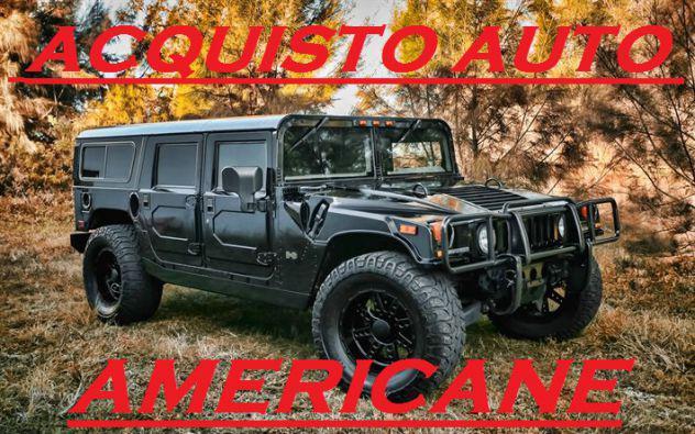 Compro auto e fuoristrada americani 3495632404