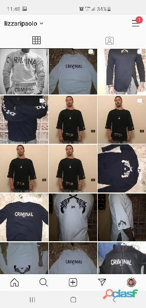 Srock Abbigliamento criminal man marchio italiano