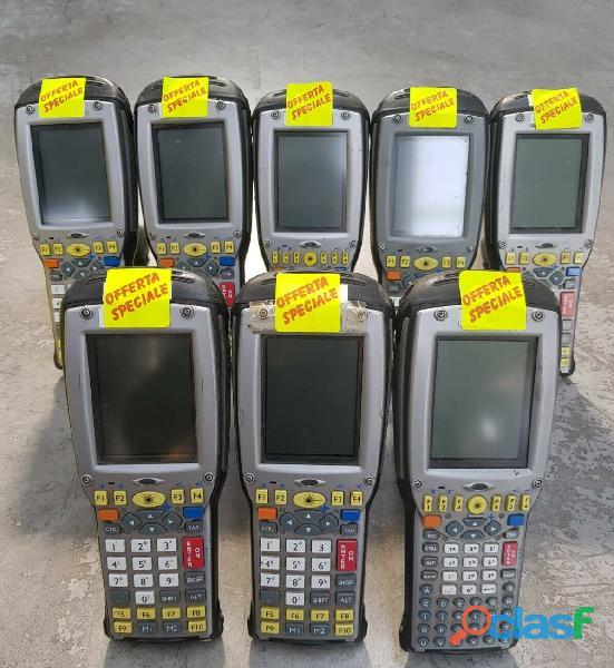 8 Lettori di codici a barre Psion Teklogix 7535