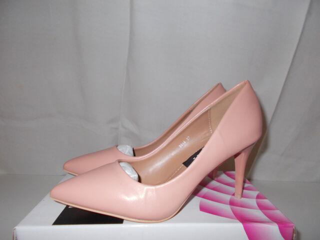 Scarpe colore rosa antico tacco spillo