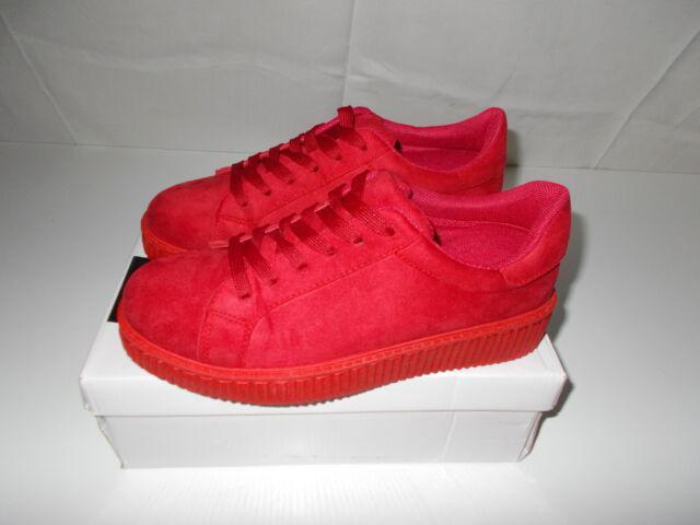 Scarpe ginnastica invernali rosse