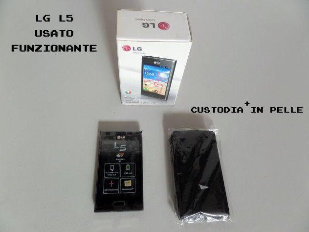 Smartphone lg optimus l5 anno 2012, usato, funzionante +