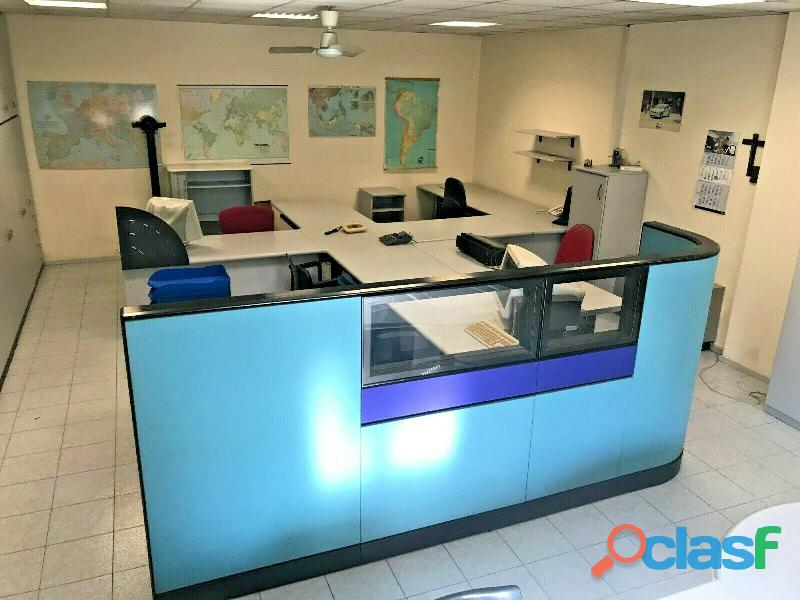 Ufficio operativo 5 postazioni di lavoro   armadio 14 ante CODICE A