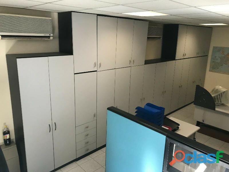 Ufficio operativo 5 postazioni di lavoro   armadio 14 ante CODICE A 2