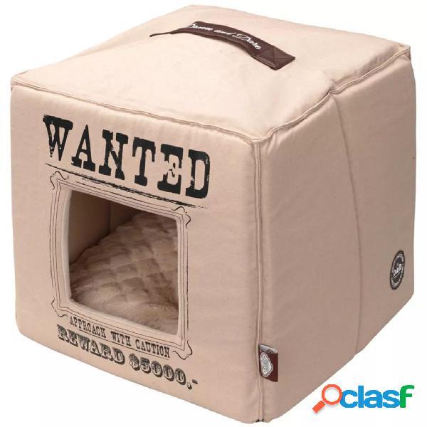 D&d d&d cuccia per gatti wanted 40x40x40 cm beige 671/432310