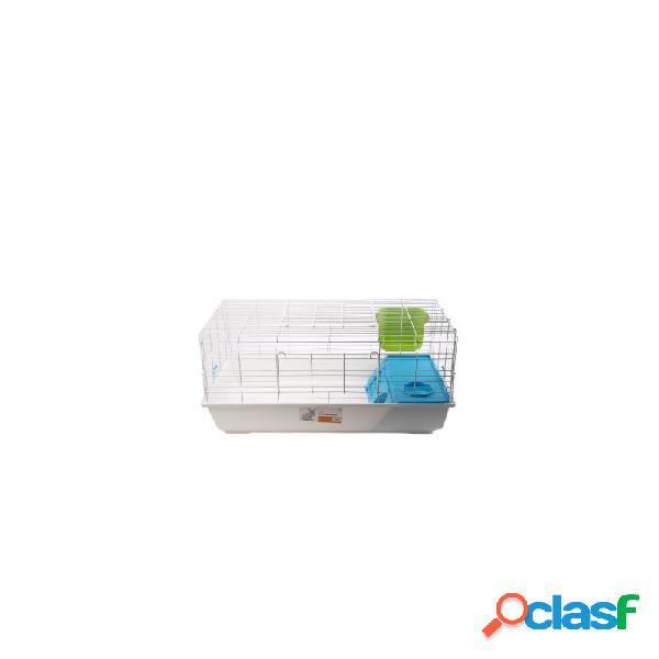 M-pets - eva gabbia per conigli e cavie colori assortiti misure 101,6 x 53,4 x 46 cm