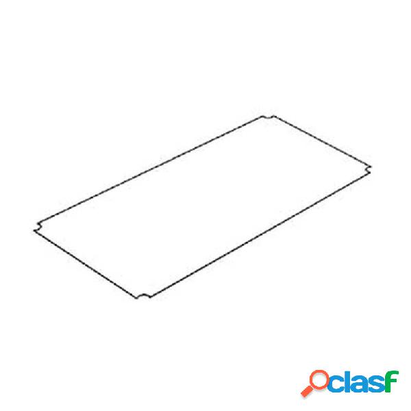 Piano in plexiglass 45x45 cm spessore 3 mm