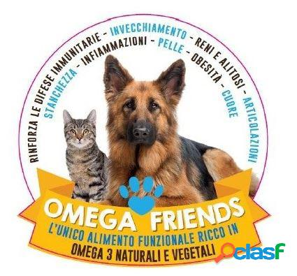 Omega friends - omega3 - mangime complementare per cani e gatti gr 300