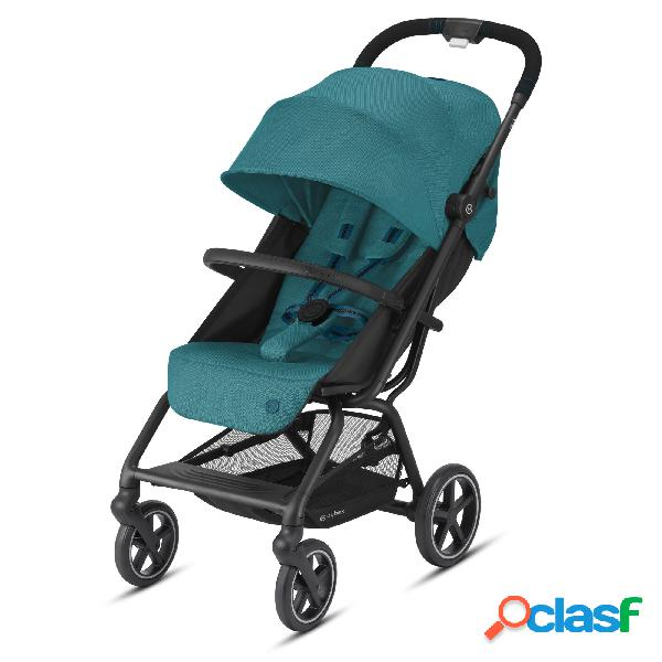 Passeggino cybex gold eezy s+ blk river blue/turquoise 2020