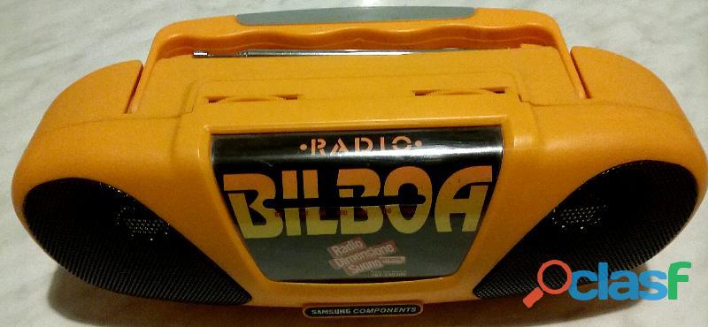 Radio a batteria Bilboa Samsung Components Mod.167 11 AM/FM nuovo