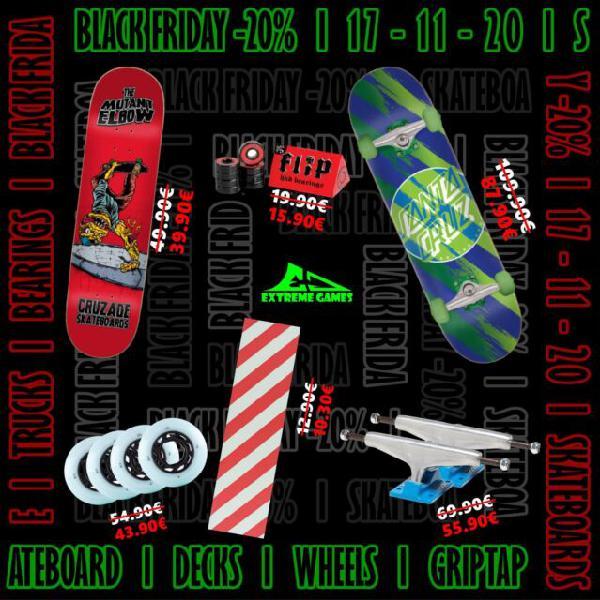 Black friday skateboard