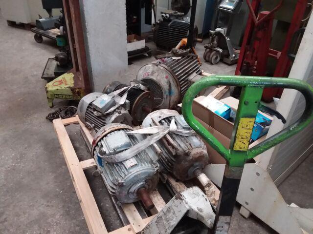 Motore elettrico usato
