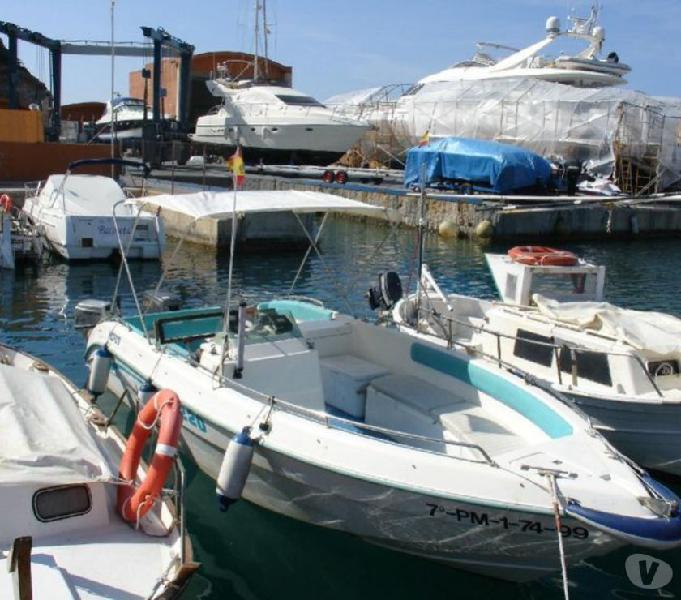 Barca open gaia 220 optimax 150 inj