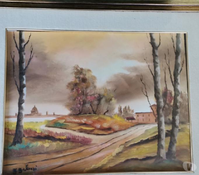 Dipinto olio su tela, firmato f. galusi