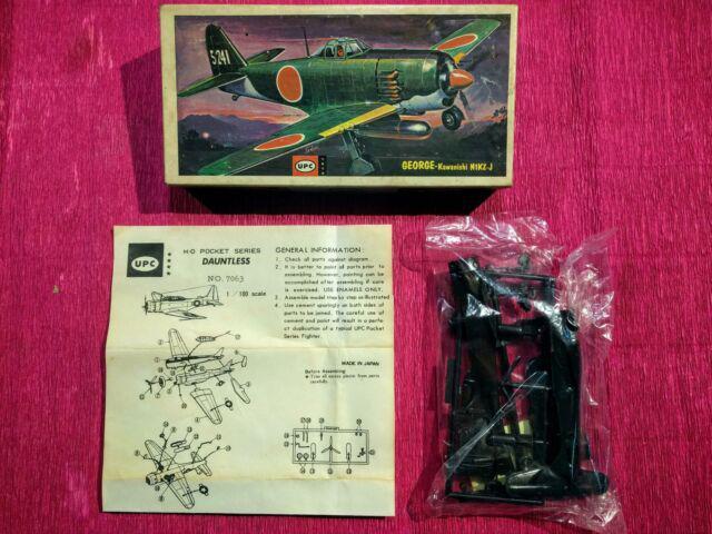 Giocattolo anni 60 kit montaggio upc aereo n1kz-j made in