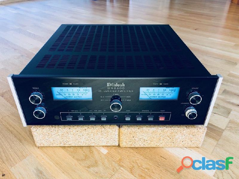 Perfetto come nuovo Amp. Mcintosh MA 6400
