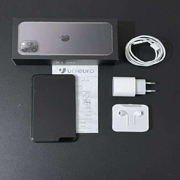 Apple 11 pro max 256gb nero, nero, scontrino unieuro