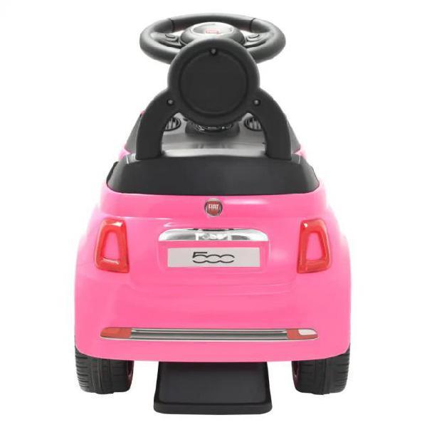 Auto giocattolo bambini fiat 500 cavalcabile bassa r7059 con