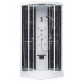 Box doccia ad angolo con idromassaggio diablo - cardelli