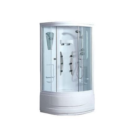 Box doccia ad angolo con idromassaggio fuji - cardelli