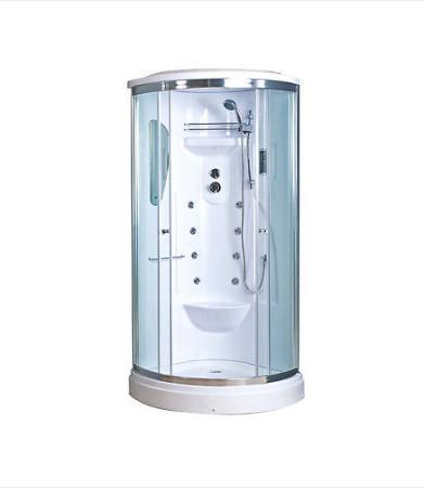 Box doccia ad angolo con idromassaggio kilimangiaro -