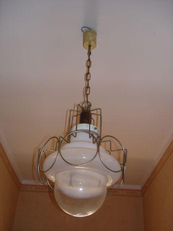 Lampadari in vetro e metallo