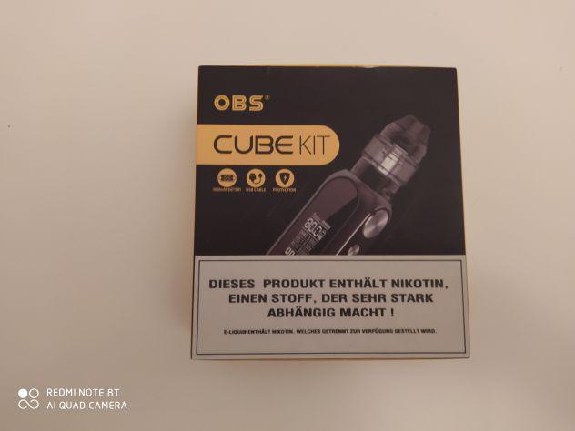 Obs cube starter kit sigaretta elettronica