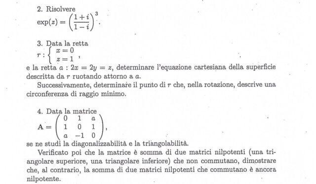 Lezioni e ripetizioni di matematica, analisi, geometria,
