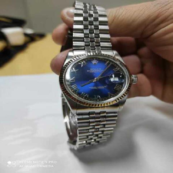 Rolex date just 36 mm lunetta oro