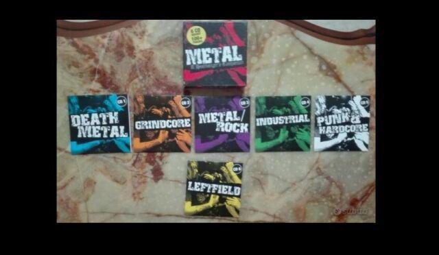 Cofanetto cd musica metal