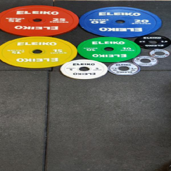 Eleiko ipf powerlifting competition set