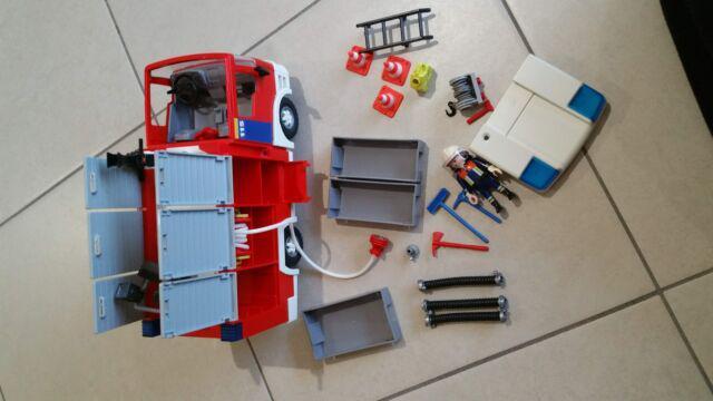 Playmobile autopompa vigili fuoco