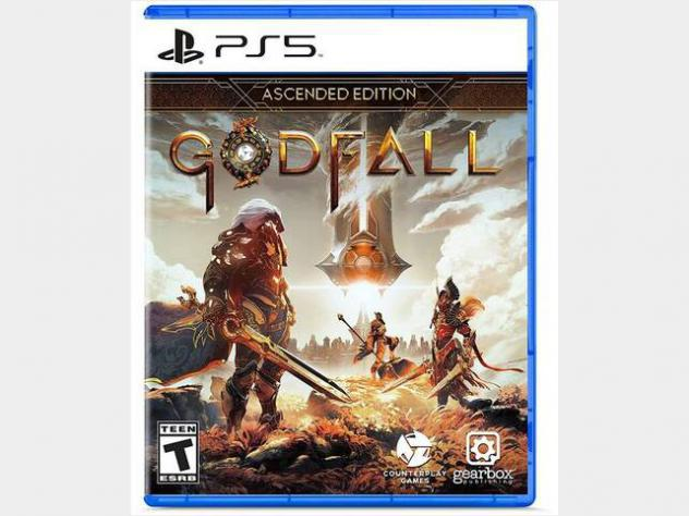 Gioco playstation 5 - godfall: ascended edition nuovo