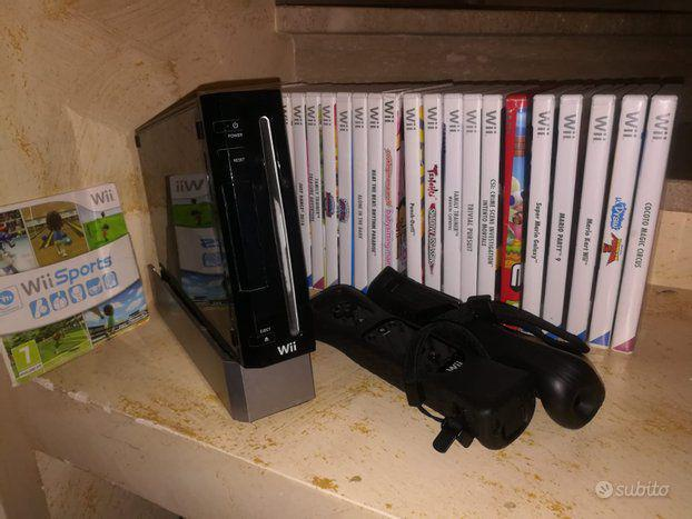 Nintendo wii nera come nuova tanti giochi e accessori.