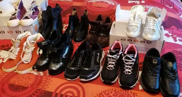 Stock 12 paia scarpe nuove nike superga fila num. 40