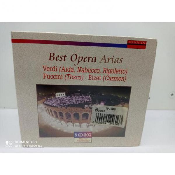 Cofanetto cd pz 5 best opera arias