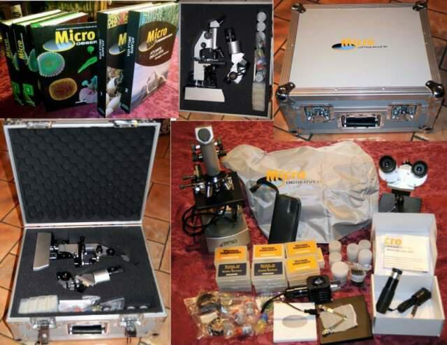 Microscopio + microscopio stereoscopico + oculare digitale