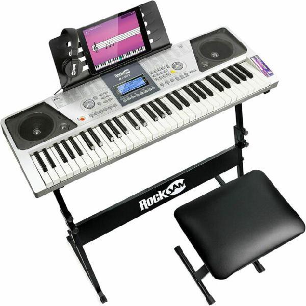 Tastiera elettronica multifunzione rockjam rj-661 nuova!