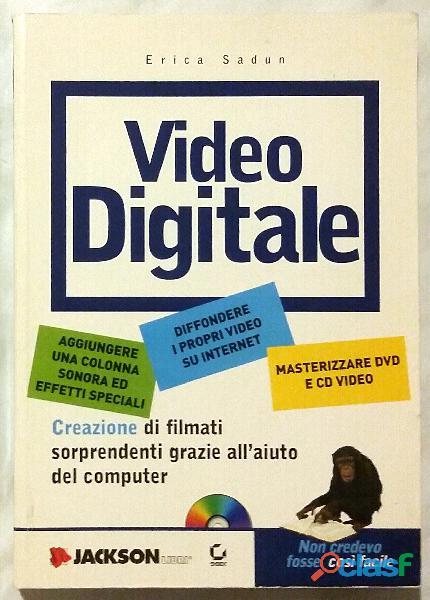 Video digitale. con cd rom di erica sadun ed: jackson libri, 2002 come nuovo