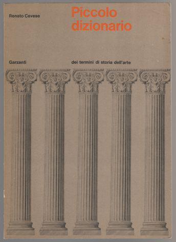 Piccolo dizionario dei termini di storia dell'arte