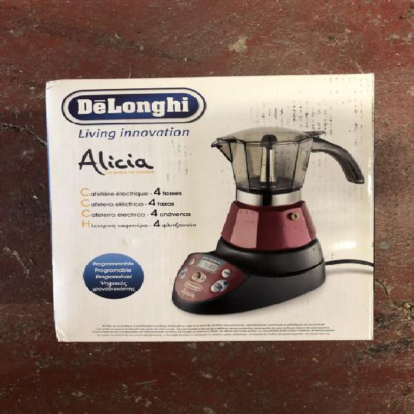 Alicia delonghi caffettiera programmabile nuova