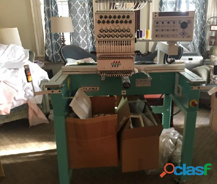 Tajima tehx c1501 macchine da ricamo