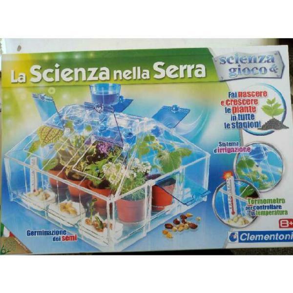 Gioco scatola clementoni la scienza nella serra