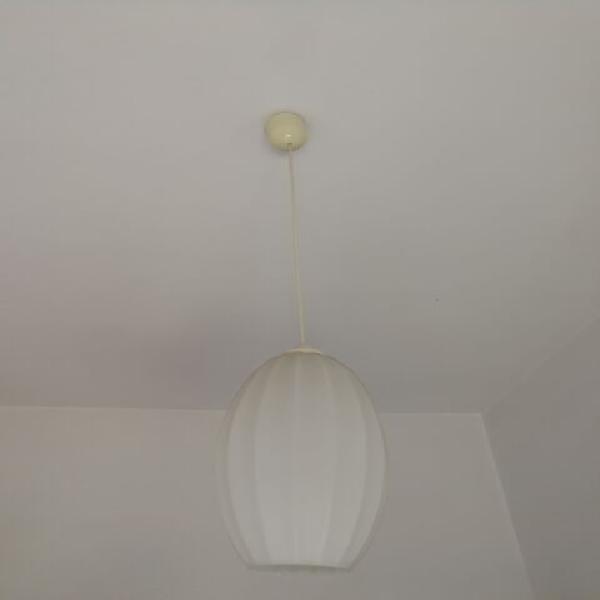 Lampadari varie di forme e materiali.