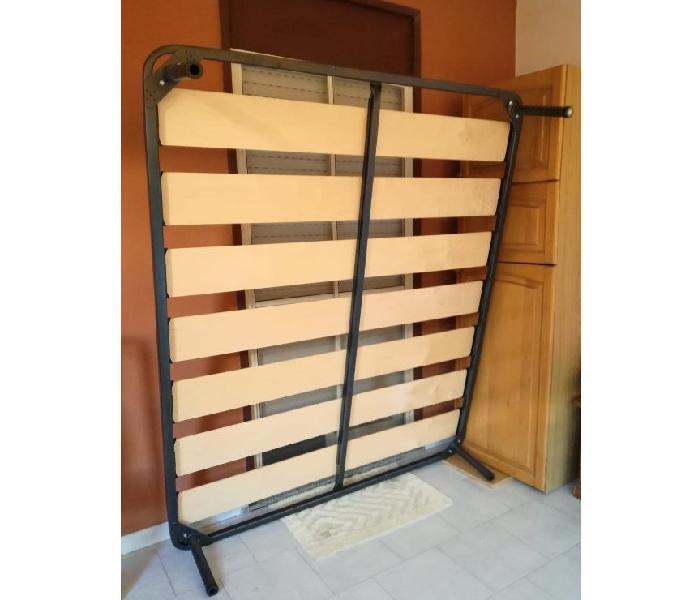Rete in ferro a doghe larghe matrimoniale ortopedica messina - casalinghi - articoli per casa e giardino