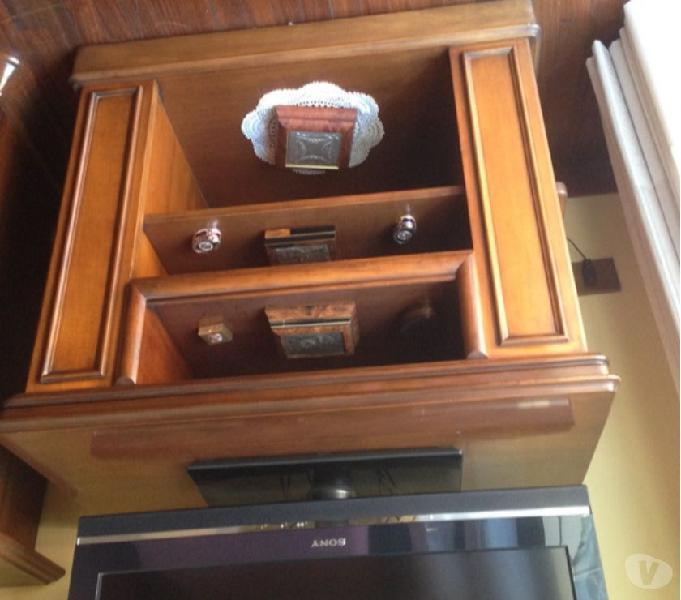 Porta tv legno massello piano girevole in vendita roma - vendita mobili usati