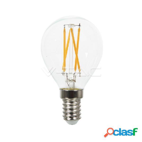 Led bulb - 4w filament cross e14 p45 4500k