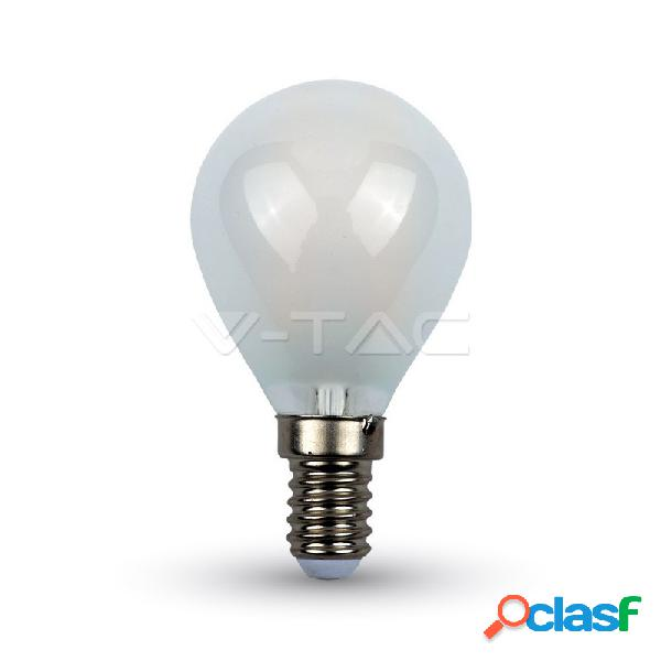 Led bulb - 4w filament e14 p45 cross frost cover 2700k