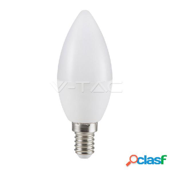 Led bulb - 7w e14 candle 6400k