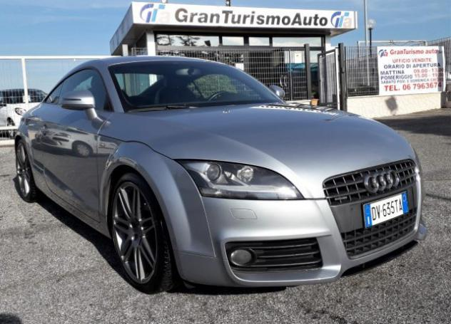 Audi tt coupé 2.0 tdi quattro s-line+navi+xenon+bose rif.